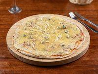 Pizzeta 4 quesos L
