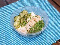 Sushi salad de langostino