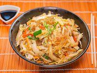 Chow mifen de verduras