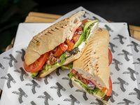 Sándwich salmón fresh
