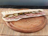Sándwich de Leberwurst