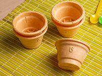 Bolsa de tazas de oblea con cucharas y servilletas (5 unidades)