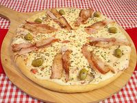 Pizza muzzarella bacon