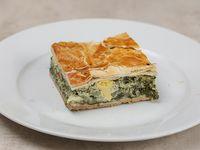 Torta pascualina (porción)