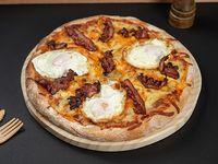 Pizzeta american breakfast