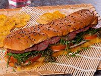 Sándwich de Pavo y Salami