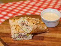Sándwich de lomito árabe