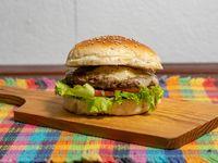 Hamburguesa con queso Paraguay