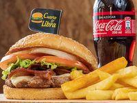 Combo Hamburguesa Cuarto de Libra Premium