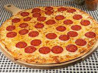 """Pizza clásica """"Pepperoni"""""""