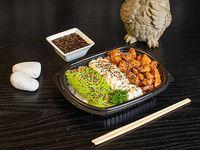 Chicken sushi salad