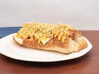 Hot Dog 3 Quesos + Tocineta