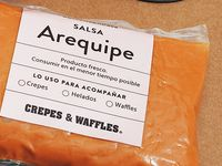 Salsa Arequipe #CrepeEnCasa