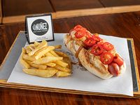 Hot dog hot