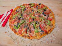 Pizza caprese la española