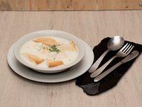 Changua con Huevos