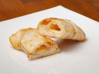 Empanada de queso y panceta