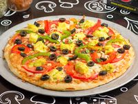 G3 - Pizza con pollo Bombay
