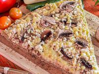Pizza de Pollo con Champiñones en Porción