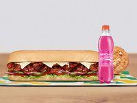 Combo Sándwich Carne BBQ  30 cm