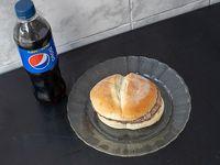 Promoción - Hamburguesa simple + gaseosa 500ml