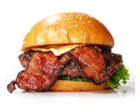 Burger con Tocineta 120 gr