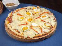 Pizzeta con huevo