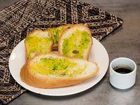 Pan Francés con Mantequilla de Ajo x 6 Und