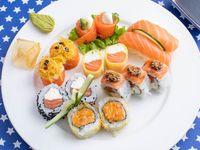 Combinado de salmón (15 piezas)