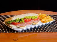 Sándwiche de Jamón de Cerdo