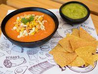 Sopa Mexicana con Pollo