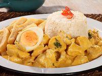 Pollo Peruano (Ají de Gallina)