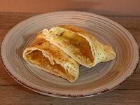 Empanada champignón queso crema