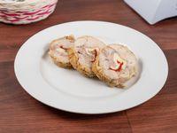 Pollo arrollado (3 fetas)