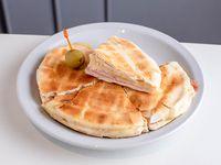 Tostado pan arabe o baguetin