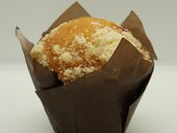 Muffin Vainilla y Frutos del Bosque