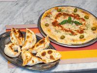 Promo Grande Muzza + 6 Empanadas