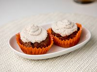 Muffins carrot cake veg x 2 unidades
