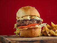 Burger bmx con papas