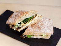 Sándwich de Queso Brie