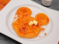 Waffle de Mantequilla y Syrup