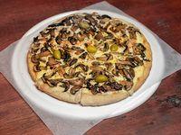 Pizza con champiñón