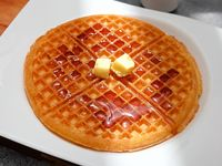 Waffle Mantequilla Syrup