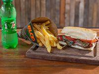 Combo - Chori Blog + papas fritas + bebida 250 ml