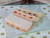 Sándwich triple de jamón, morrón con huevo (unidad)