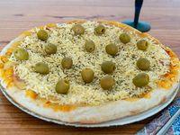 Pizza al provolone (8 porciones)