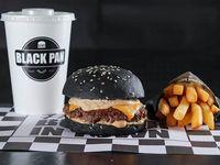 Combo del día - Funny burger + Papas fritas + Gaseosa 500 ml