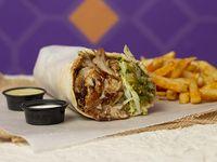 Shawarma de Pollo en Combo