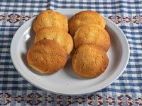 Cookies de naranja rellenas