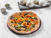 Pizza vegetales horneados